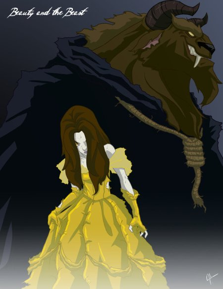 Twisted_Princess__Belle_by_jeftoon01